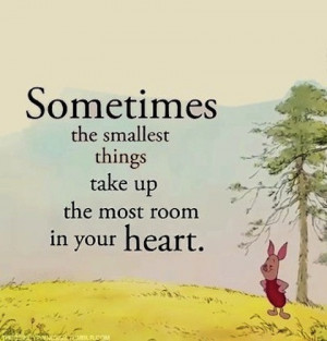 heart winnie the pooh picture quote