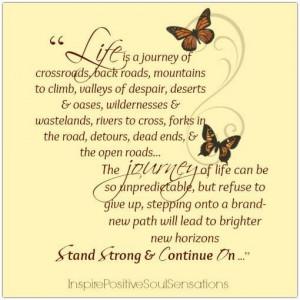 Love butterflies & quote