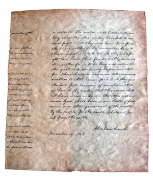 Gettysburg+address+abraham+lincoln