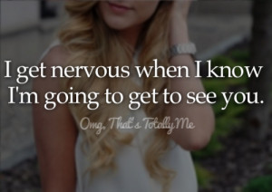 ... image include: love, nervous, girl, omg that's totally me and heart