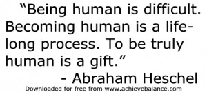 Being Human Quotes