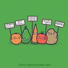 Funny Vegetable Sayings