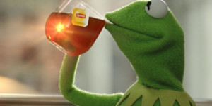 """... Video: Kermit's advice on how to """"be more tea"""" with Lipton"""