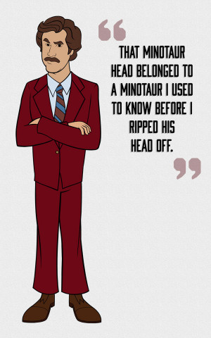 anchorman ron burgundy quotes