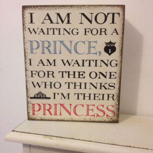 ... for the one who thinks i m their princess freestanding block quote