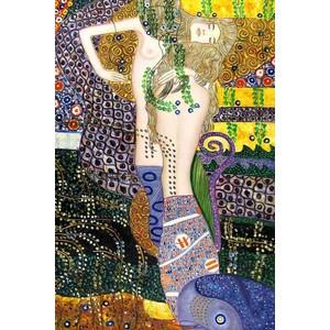 Gustav Klimt Sea Serpents