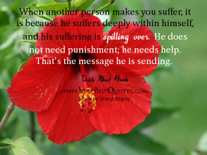 When another person makes you suffer (Suffering Quotes)