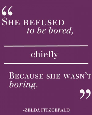 boring people are bored