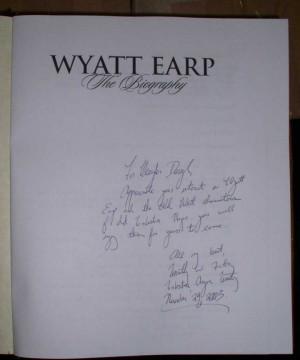 wyatt earp biography tombstone gunfight We