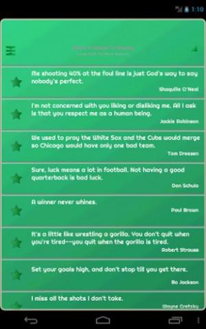 Athletes Quotes Screenshot 16