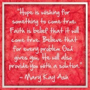 Mary Kay Words of Wisdom