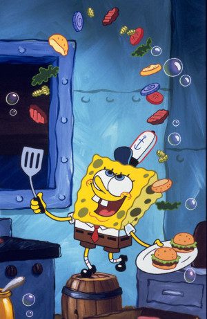 spongebob squarepants as himself in spongebob squarepants there it is