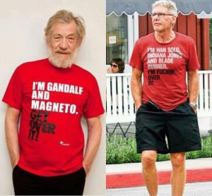 ... Wars, Indiana Jones, Blade Runner) et Ian McKellen (Gandalf dans le