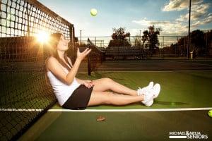 Tennis, Scarves, & Gorgeous Hair: 2014 Spokesmodel Jamie Tuggle!