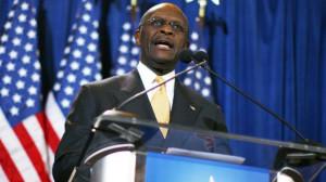 Black Republican Presidential Candidate Herman Cain