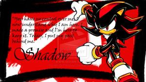 Shadow the Hedgehog Background by MINDYWAAAA
