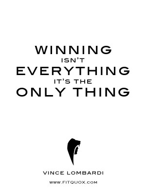 Winning quotes, best, motivational, sayings, only thing