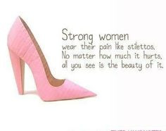 strong lady just like you more it hurts stay strong quotes to ...