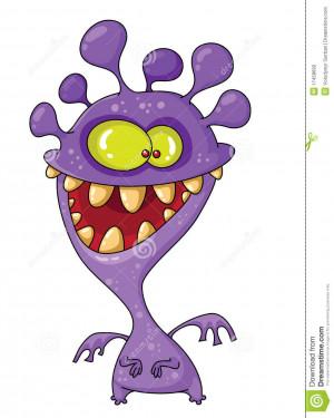 Illustration Monster Funny