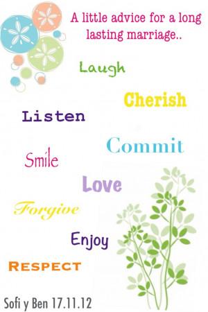 Happy Marriage Advice - Quotes