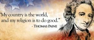 Tom Paine on Patriotism and Morality