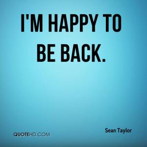 Sean Taylor Quotes