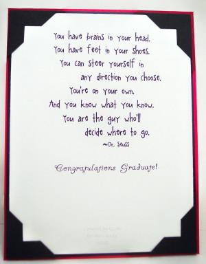 Senior Graduation Quotes From Parents. QuotesGram