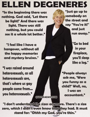 Ellen Degeneres Quotes.. love her !!