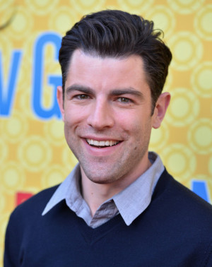 Max Greenfield Actor Max Greenfield arrives to The Academy of