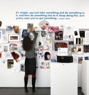 Jasper Johns QUOTE on art making