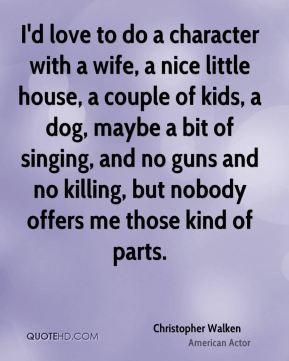 Christopher Walken Wife