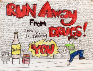 No Drugs Poster 2012 poster contest winners
