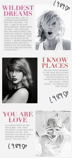 Taylor Swift Song Quotes 1989 Taylor swift 1989 quotes