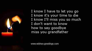 prayer for loss of grandfather