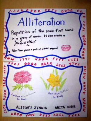 Alliteration :