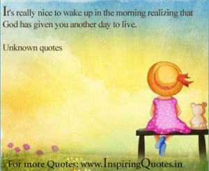 Inspirational Good Morning Quotes For Facebook ~ Good-Morning-Quotes ...