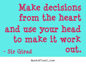 Inspirational Quotes About Decision Making