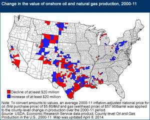 Oil Sources Maps and Charts