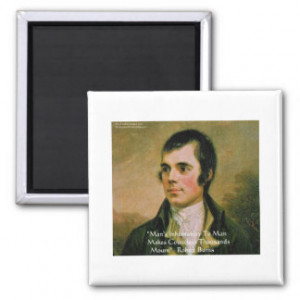 Robert Burns Quotes Gifts and Gift Ideas