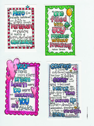 Scrapbook Your Hero with this Free Printable Quotes Download