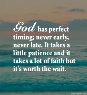 God And Patience Quotes God