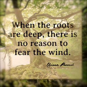 ... No Fear, Inspiration Quotes, Deep Roots, Favourite Quotes, The Roots