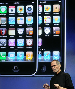 ... million iPhone sales in the three months that ended March 27