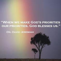 Dr. David Jeremiah More