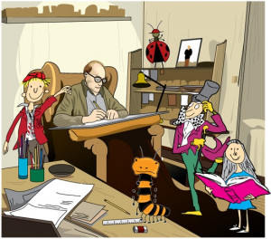 Imagination tips for your writing from Roald Dahl