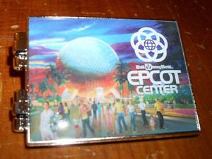 ... -EPCOT-Center-30th-WALT-QUOTE-Mural-Hinged-Booklet-Disney-Pin-NEW