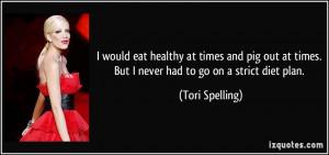 More Tori Spelling Quotes