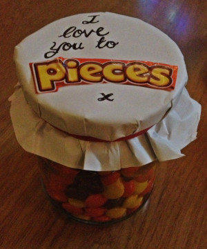 ... Valentine, Easy Homeade Christmas Gifts, Reese'S Piece, Birthday Gifts