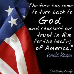 Reagan Quote – Healing of America