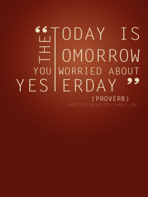 Yesterday Quotes (Images)